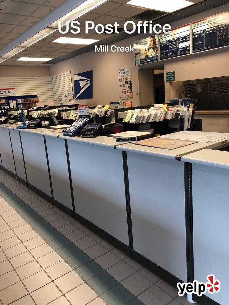 US Post Office: 15833 Mill Creek Blvd, Mill Creek, WA