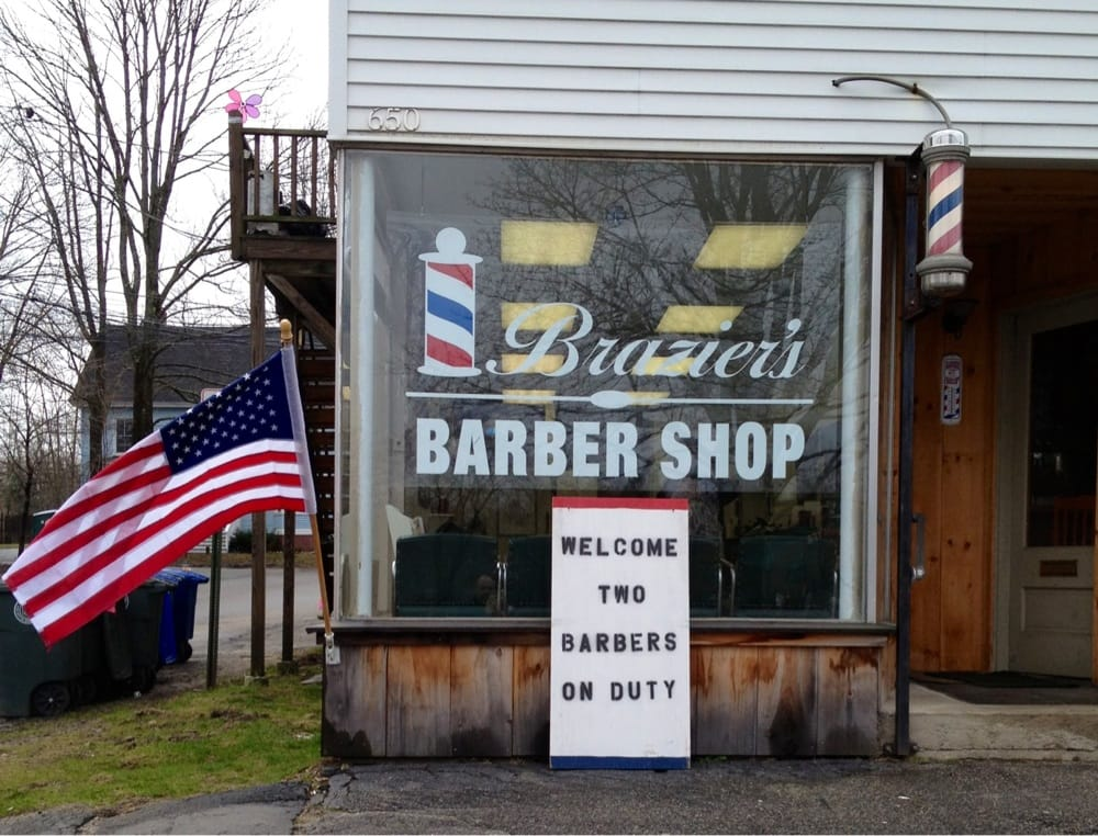 Barber Shop Near Me : Brazier?s Barber Shop - Barbers - 650 Main St, Westbrook, ME - Phone ...