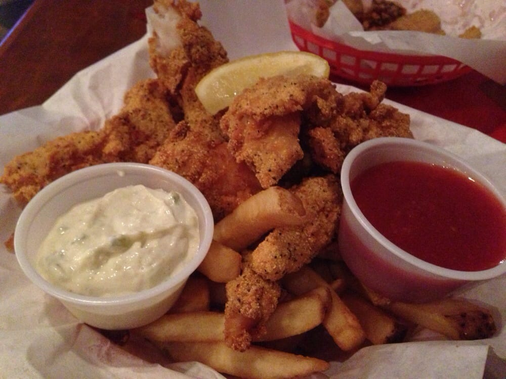 Fried fish platter comes with fries yelp for Good fried fish near me