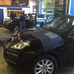 Photo of Allstate Glass - Weymouth, MA, United States. Three experienced technicians working