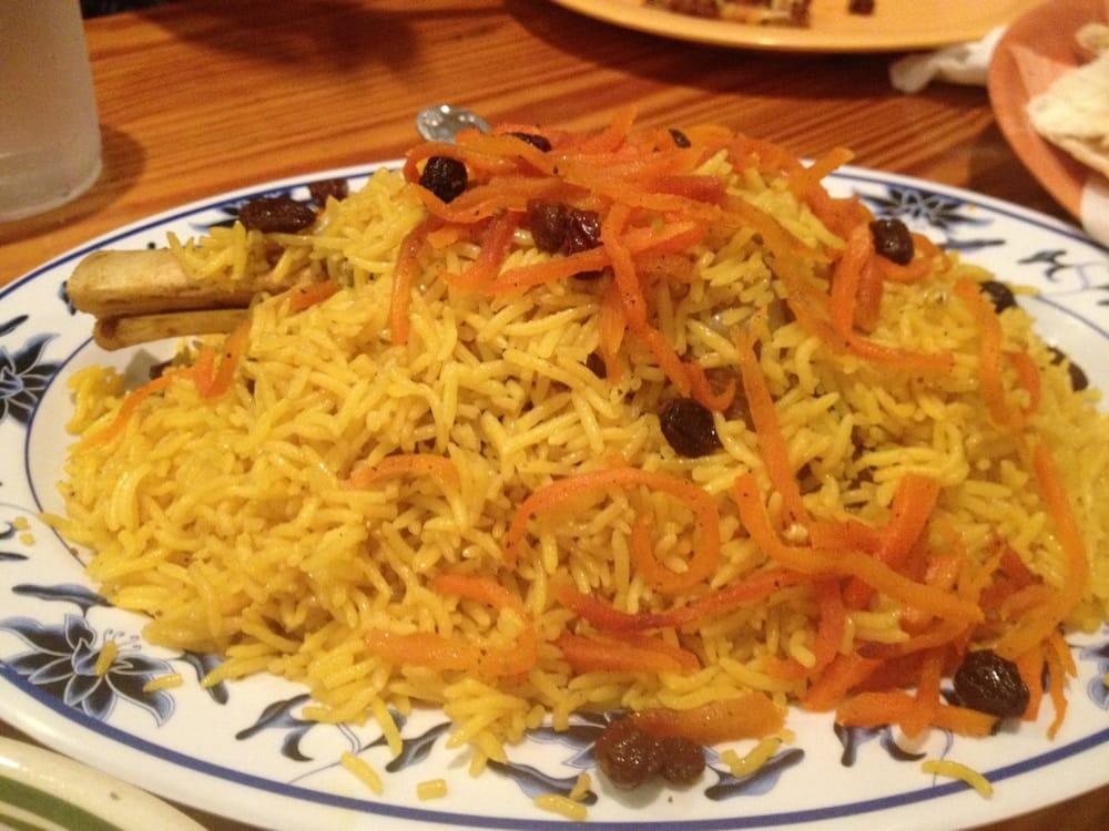 Quabili pallow yelp for Afghan cuisine sugar land