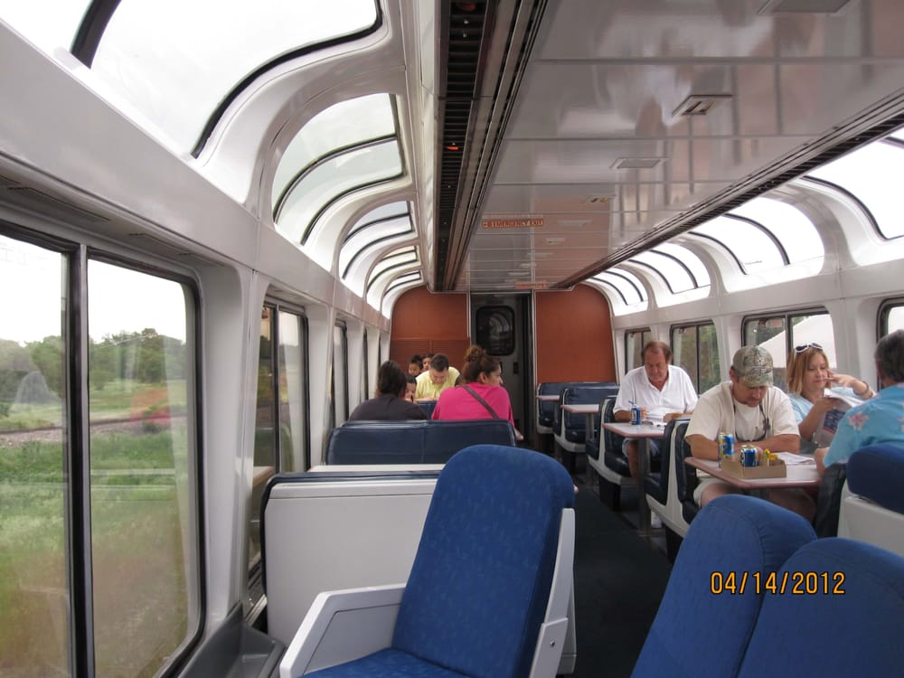 Lounge Area Of Dining Car On Upper Deck Yelp