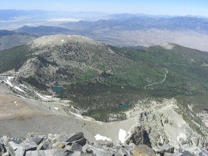 Wheeler Peak: 100 Great Basin National Park, Baker, NV