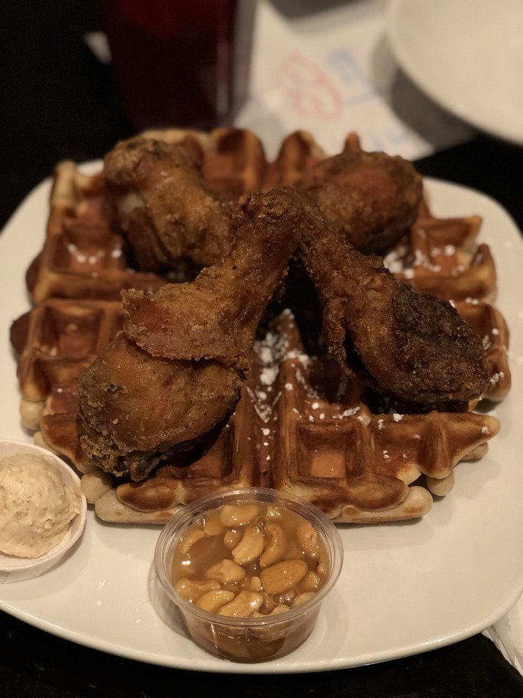 Dame's Chicken & Waffles: 301 Martin Luther King Jr Dr, Greensboro, NC