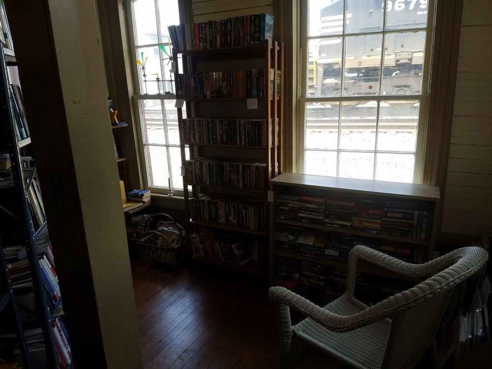 Cambria Toy Station & Whistle Stop Books: 630 Depot St NE, Christiansburg, VA