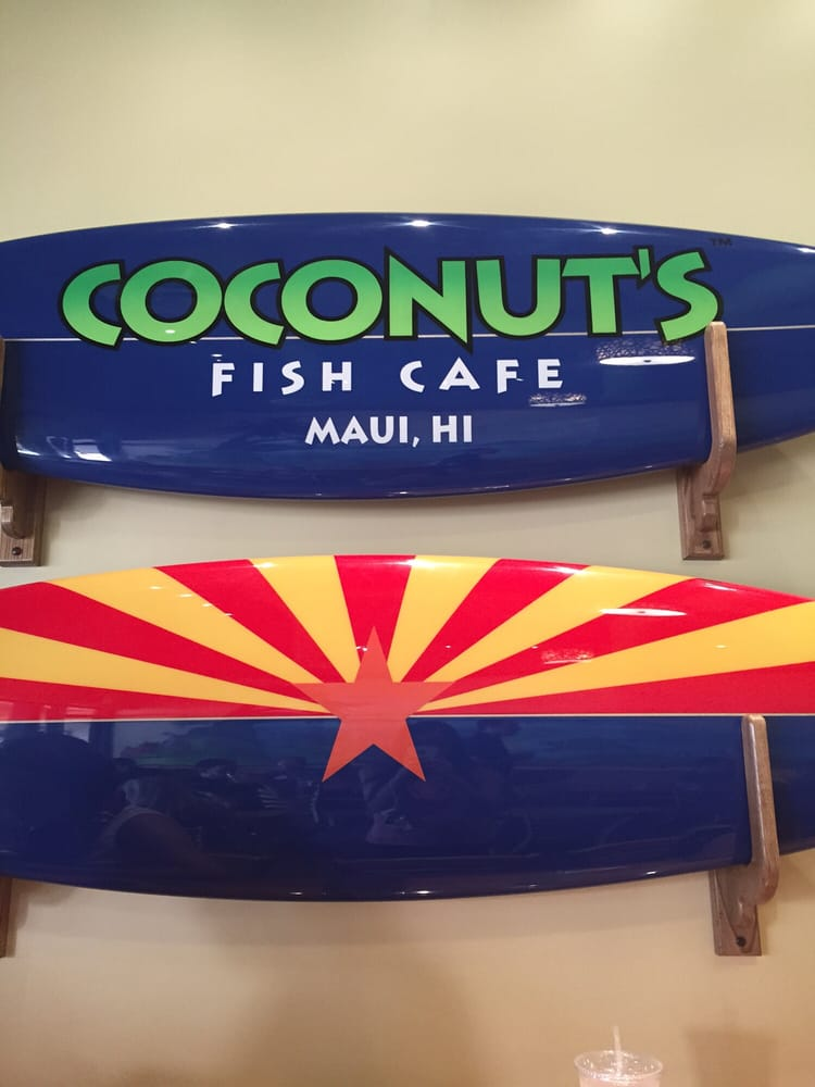 Cool surf boards yelp for Coconut s fish cafe