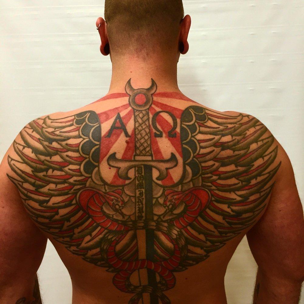 Talisman Tattoo & Body Piercing: 1430 Cerrillos Rd, Santa Fe, NM