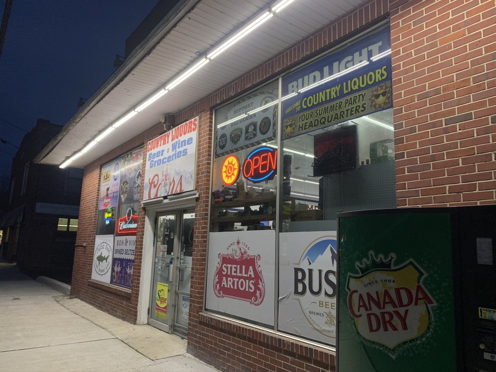 Country Liquor Store: 206 Sassafras St, Millington, MD