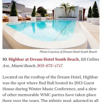 Photo Of Dream South Beach Miami Fl United States This Place