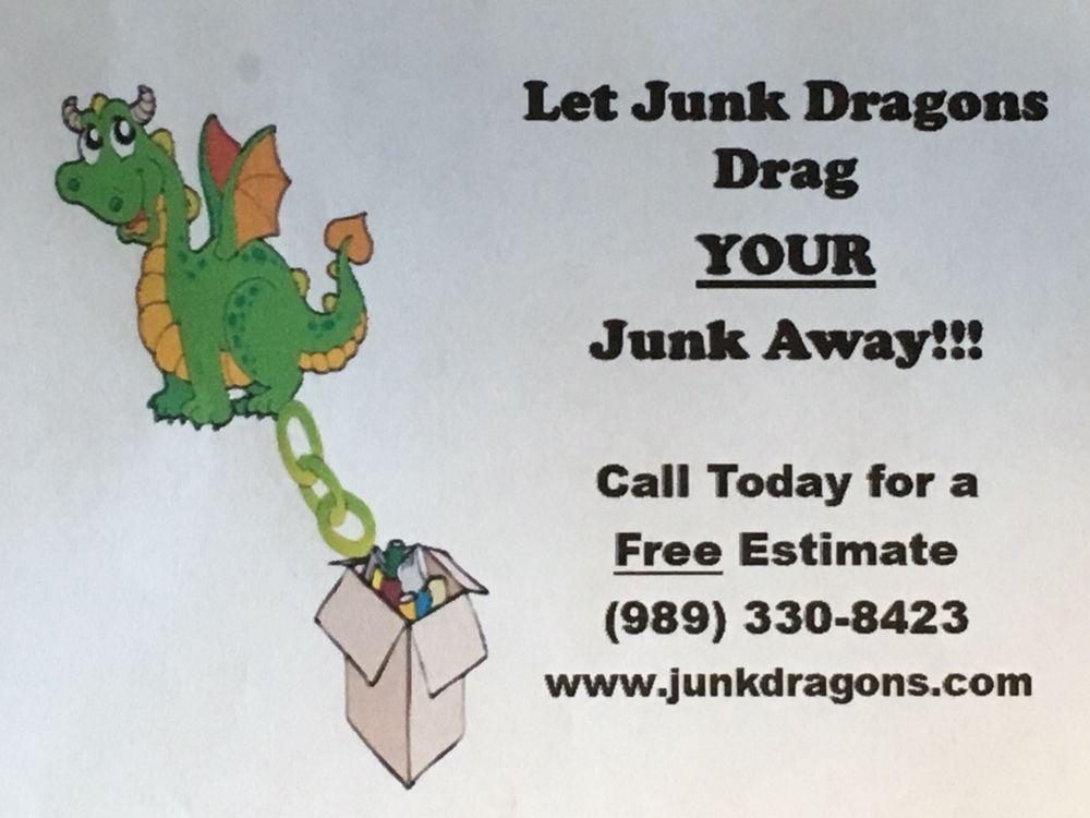 Junk Dragons: 106 W Dunlop Rd, Clare, MI