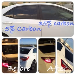Carbon Film Tint 35 On Driver And Passenger Windows 5