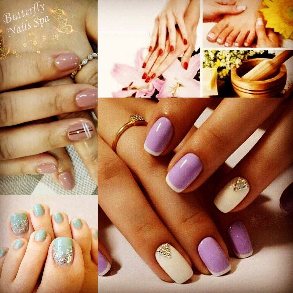 Butterfly nails spa 94 photos 33 reviews nail - Nail salons close by ...