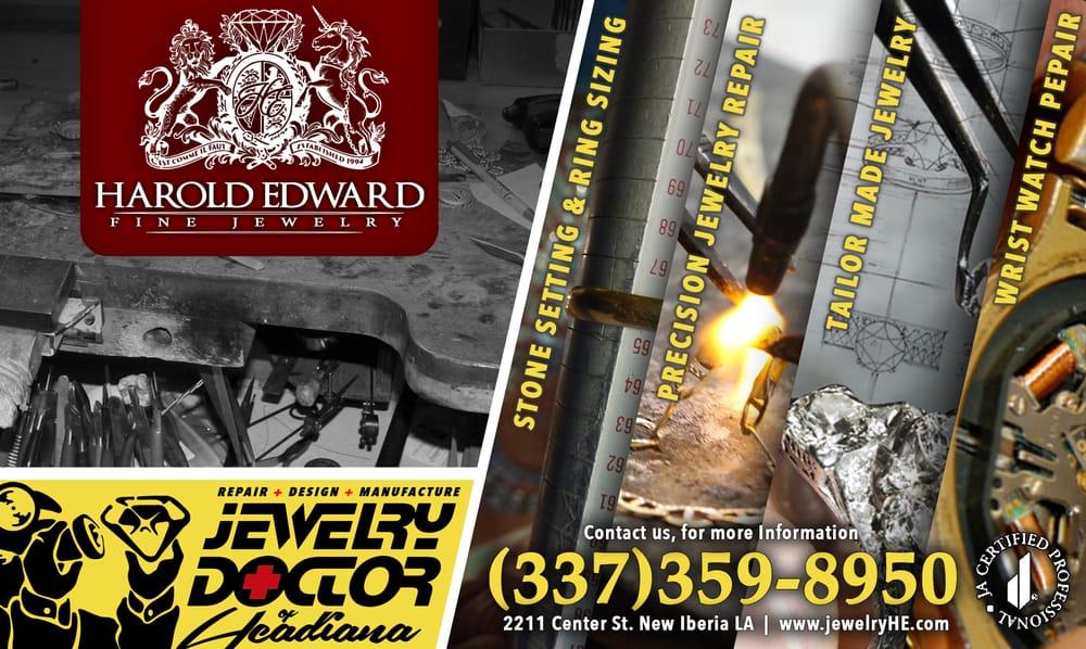 Harold Edward Fine Jewelry: 2211 Center St, New Iberia, LA