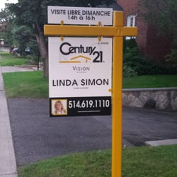 linda simon century 21 vision real estate agents notre dame de gr ce montreal qc. Black Bedroom Furniture Sets. Home Design Ideas