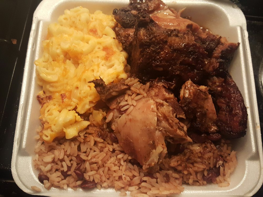 Photo Of The Hummingbird Restaurant Trenton Nj United States Medium Jerk Chicken