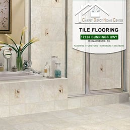 photo of carpet depot home center claysburg pa united states tile flooring