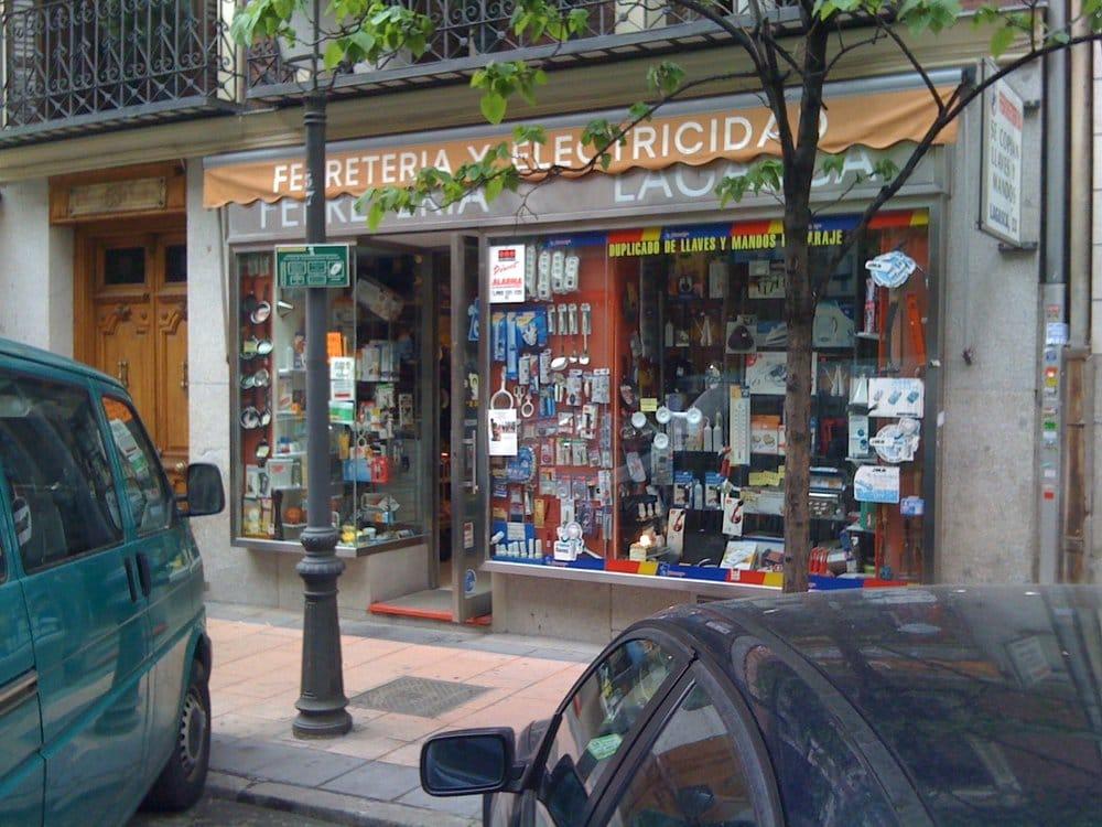 Ferreter a lagasca ferreter as calle de lagasca 53 for Ferreteria cerca de mi ubicacion