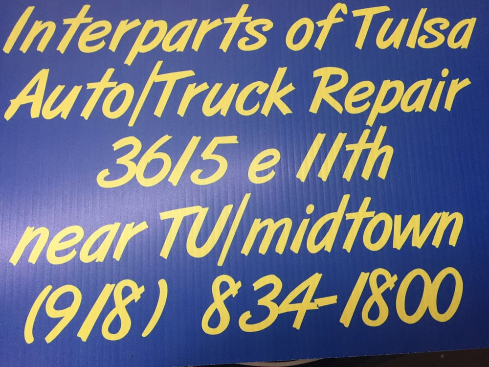 Interparts of Tulsa