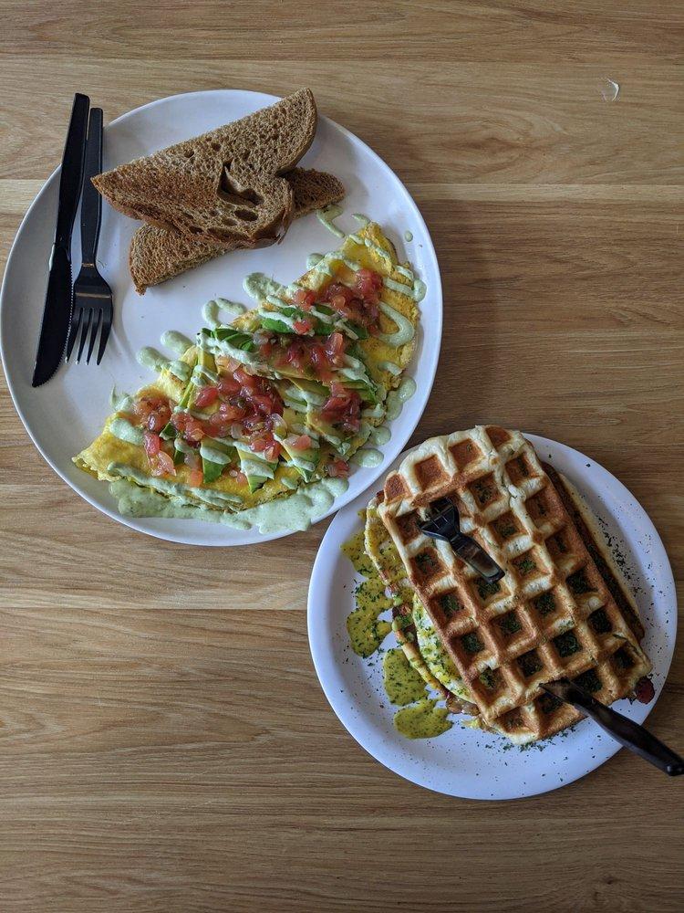 The Waffle Iron: 37 W Center St, Logan, UT