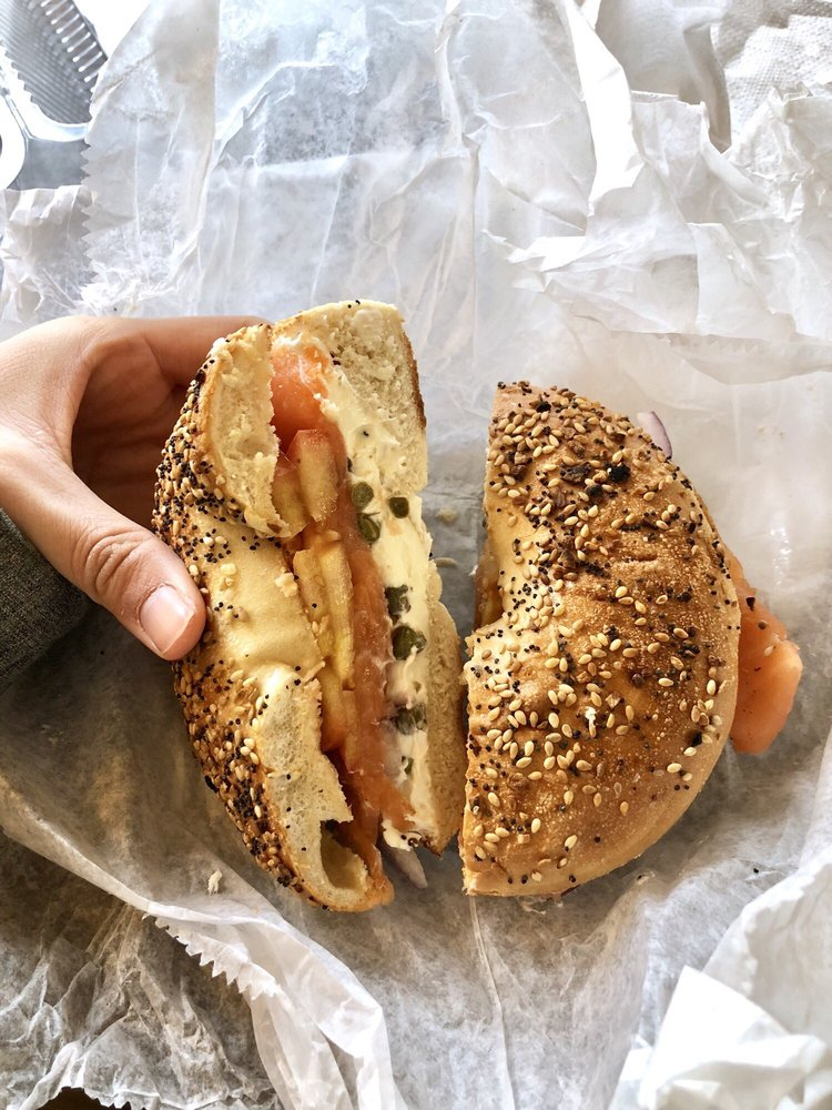 White Mountain Bagel: 25 Main St, Lincoln, NH