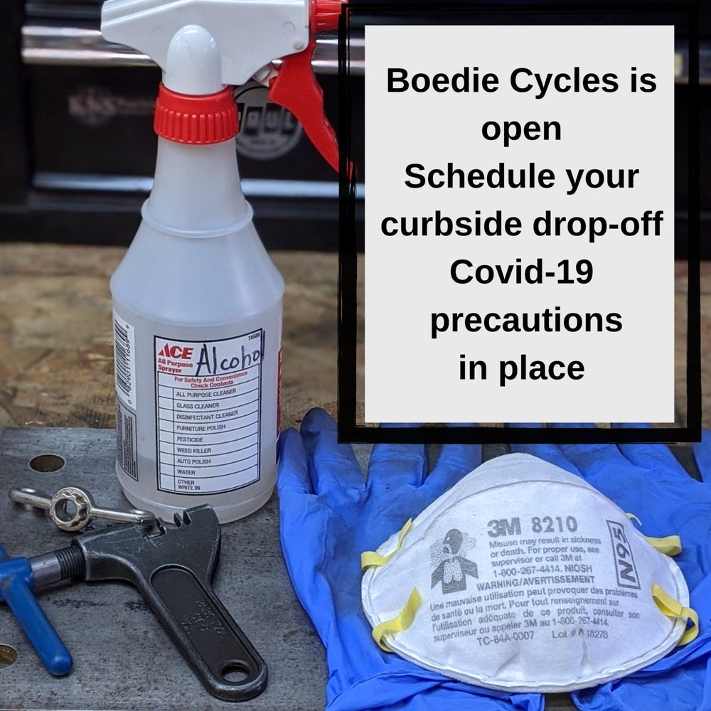 Boedie Cycles: 845B Wisconsin Ave, Whitefish, MT