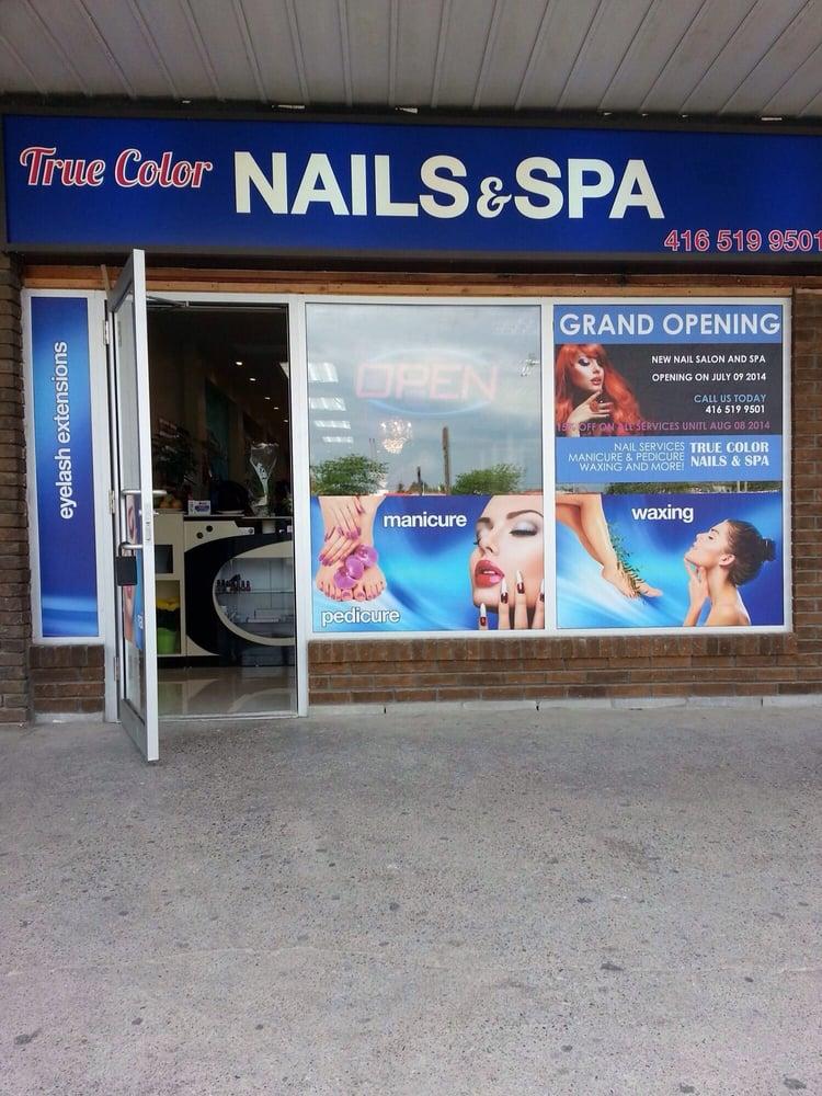True Color Nails & Spa - Nail Salons - 2520 Jane Street, Toronto, ON ...