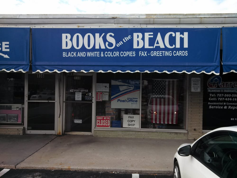 Books On The Beach: 138 107th Ave, Treasure Island, FL