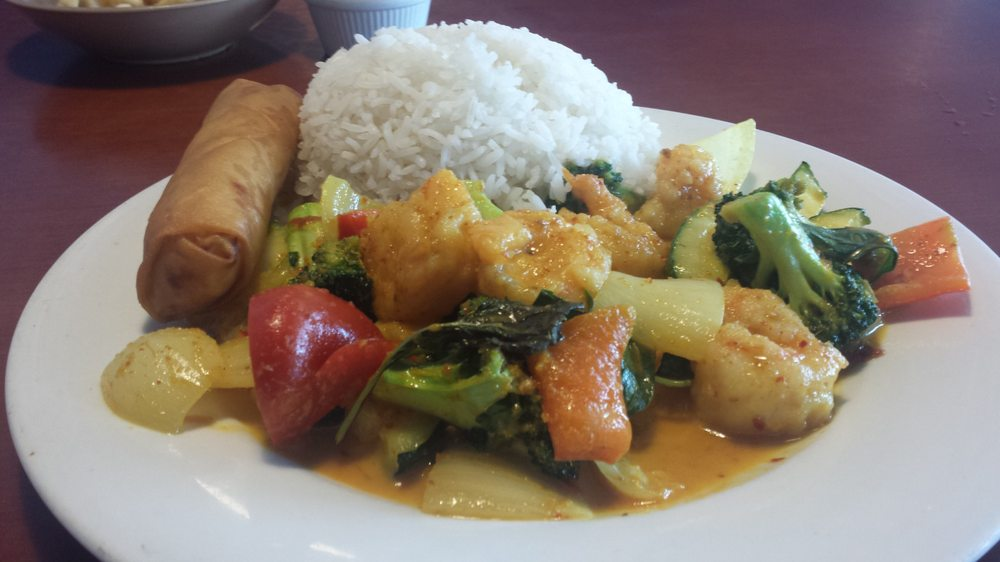Thai shrimp lunch yelp for Asian cuisine mint hill nc
