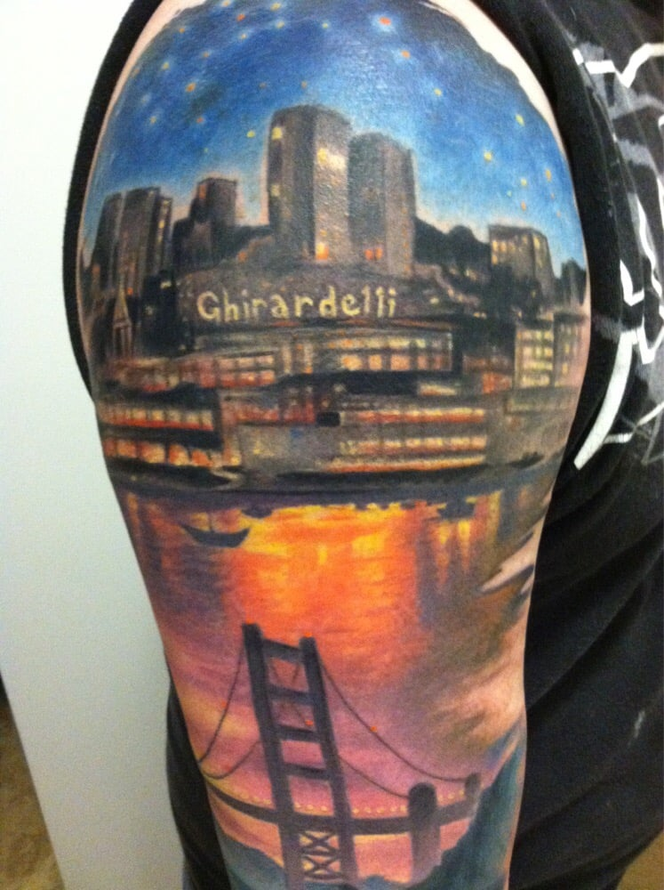 Top of sleave yelp for Salt and light tattoo