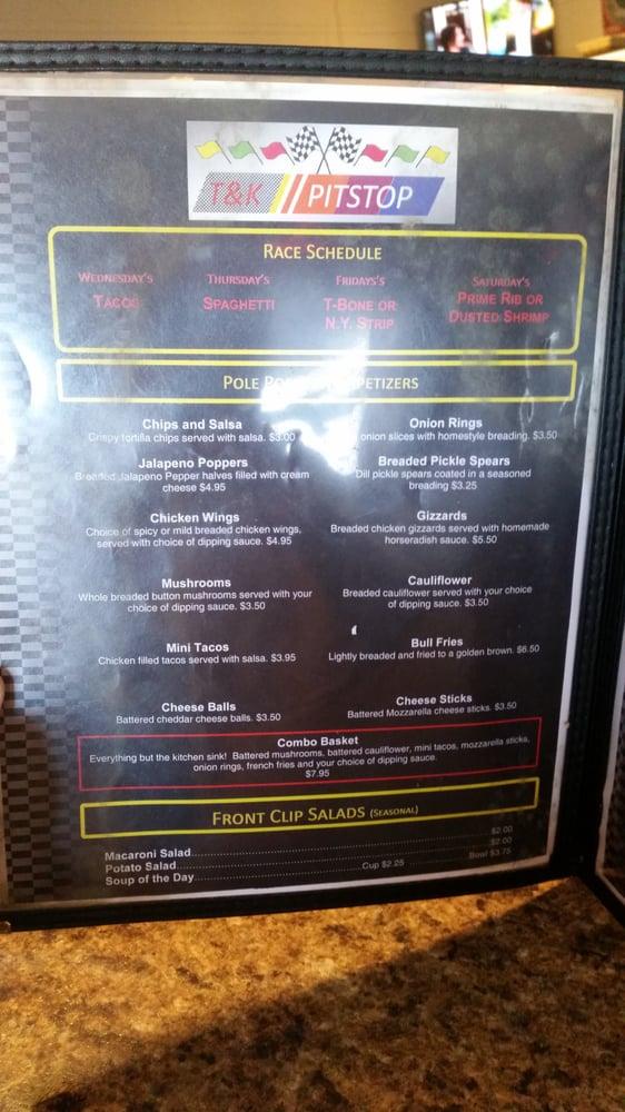 T & K Pitstop Bar & Grill: 655 S 33rd Ave, Columbus, NE
