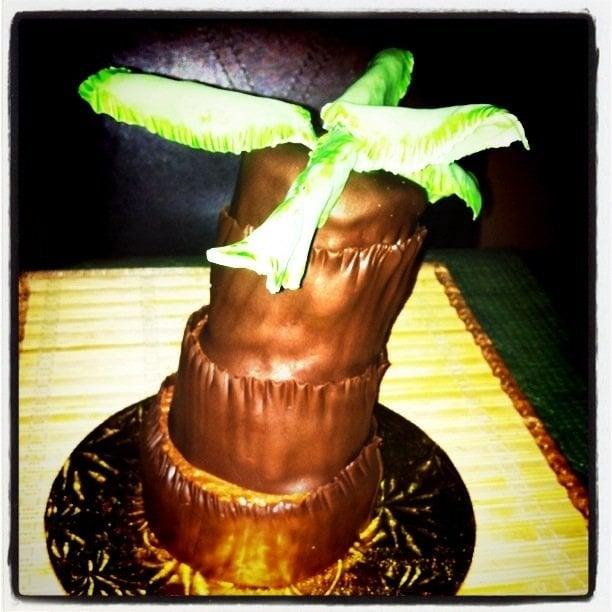 Cake And Art Yelp : Palm Tree cake - Yelp