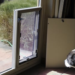 Photo Of Pet Door Pro Parker Co United States Sliding Gl Patio