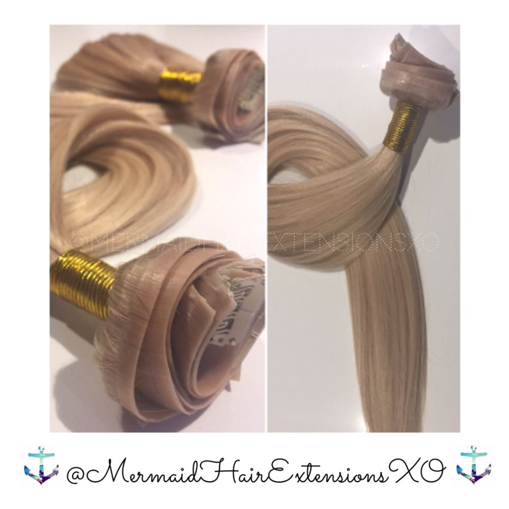 Mermaid Seamless Clip In Hair Extensions Customized Per Client Yelp