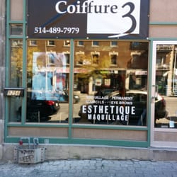 Coiffure 3 - Hair Salons - 5256 Rue Sherbrooke O, Notre-Dame ...