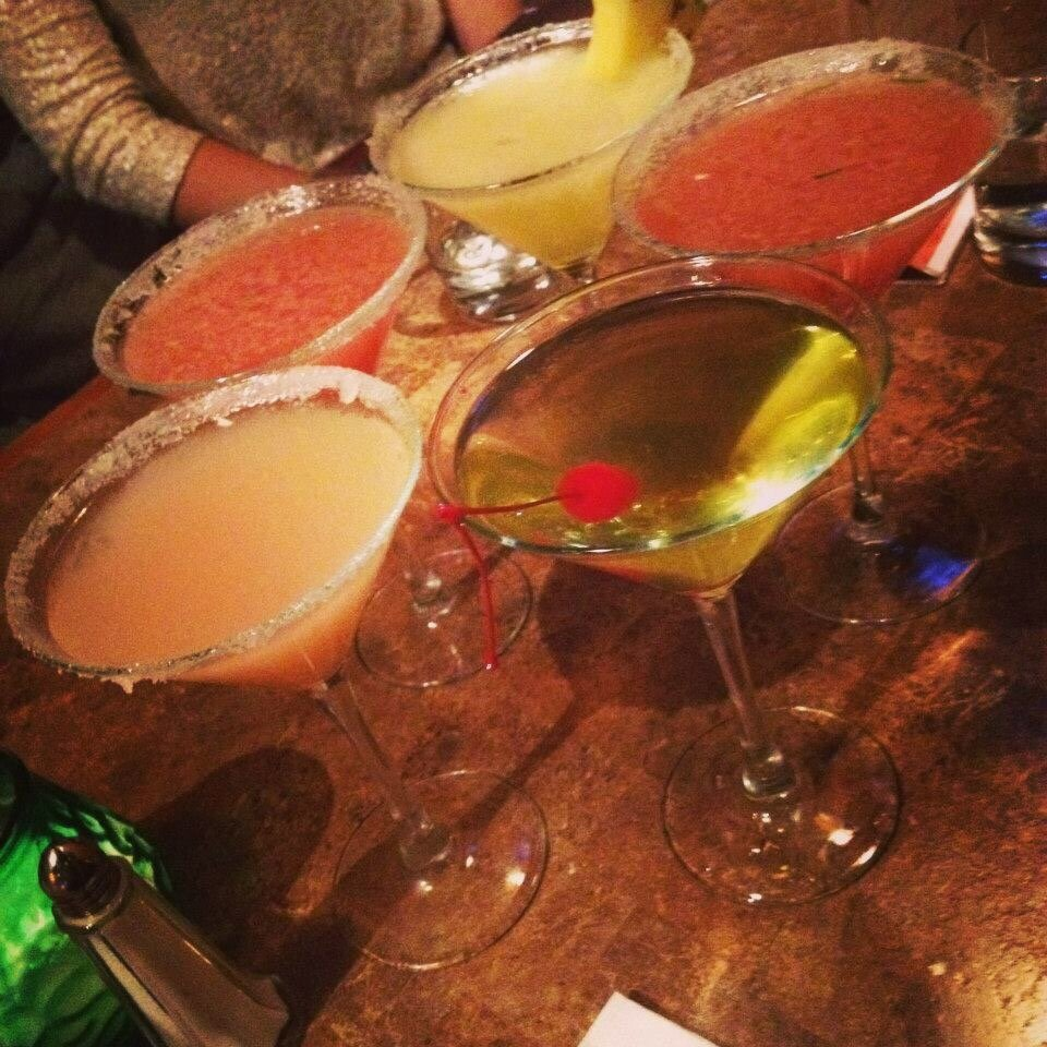 Lots of different martinis - Yelp