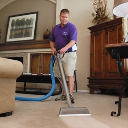 Photo of Bagnall Services - Littleton, CO, United States. Patrick Bagnall cleaning carpet
