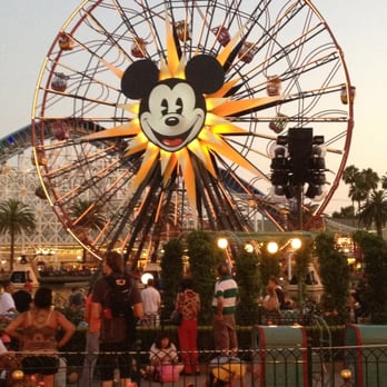 Mickey S Ferris Wheel Color Page