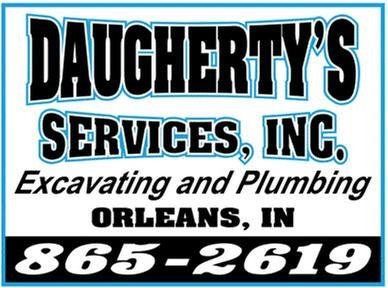 Daugherty's Services: 180 N Roosevelt St, Orleans, IN