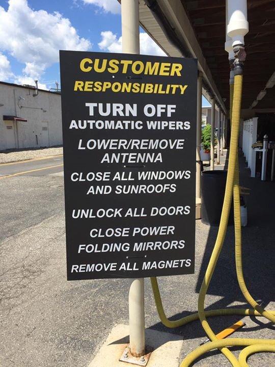 Car Wash Owner Responsibilities