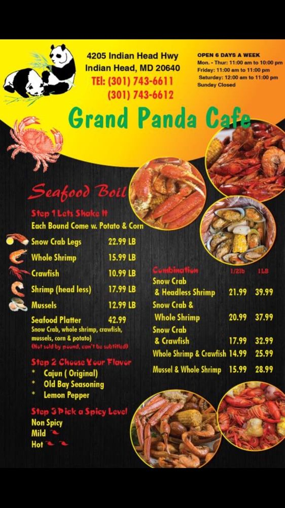 Panda Cafe: 4205 Indian Head Hwy, Indian Head, MD