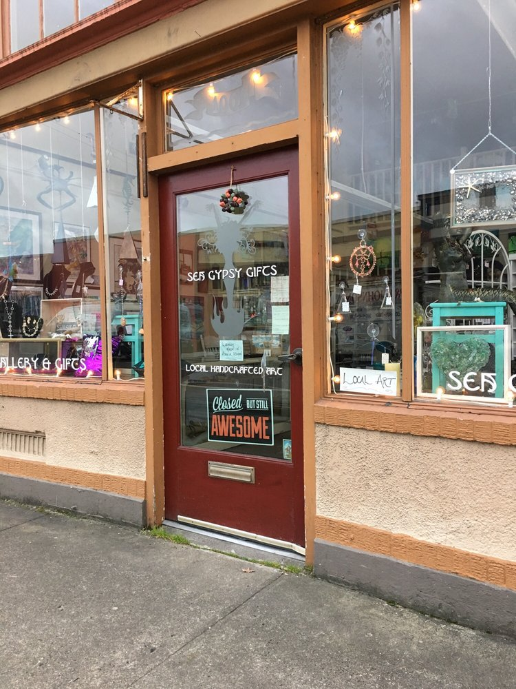 Sea Gypsy Gifts: 1001 Commercial St, Astoria, OR