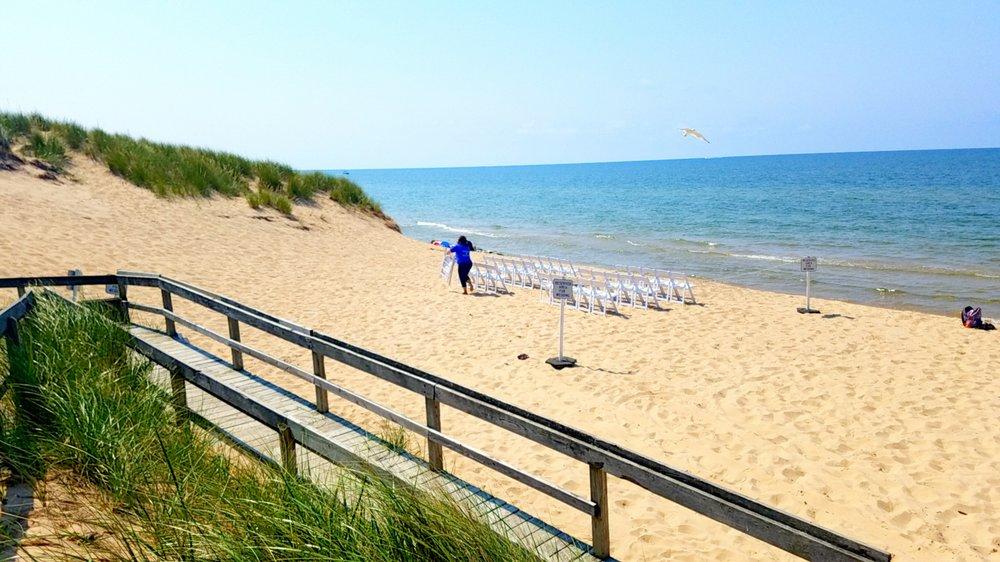 Kruse Park Lake Michigan Beach: 3205 W Sherman Blvd, Muskegon, MI