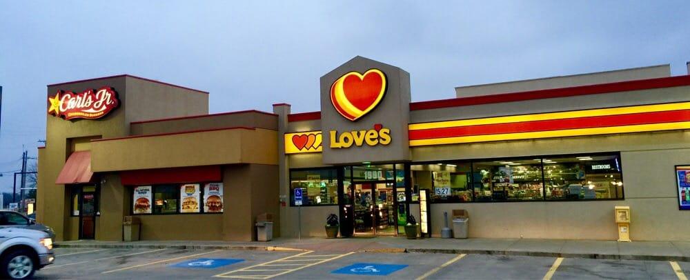 Loves Gas Station