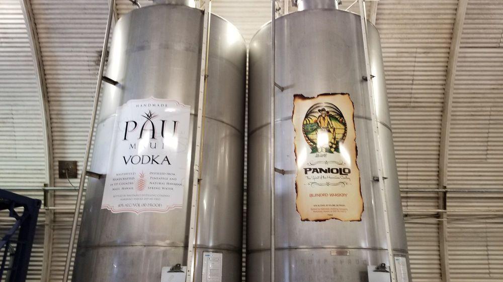 Haliimaile Distilling: 883 Haliimaile Rd, Makawao, HI