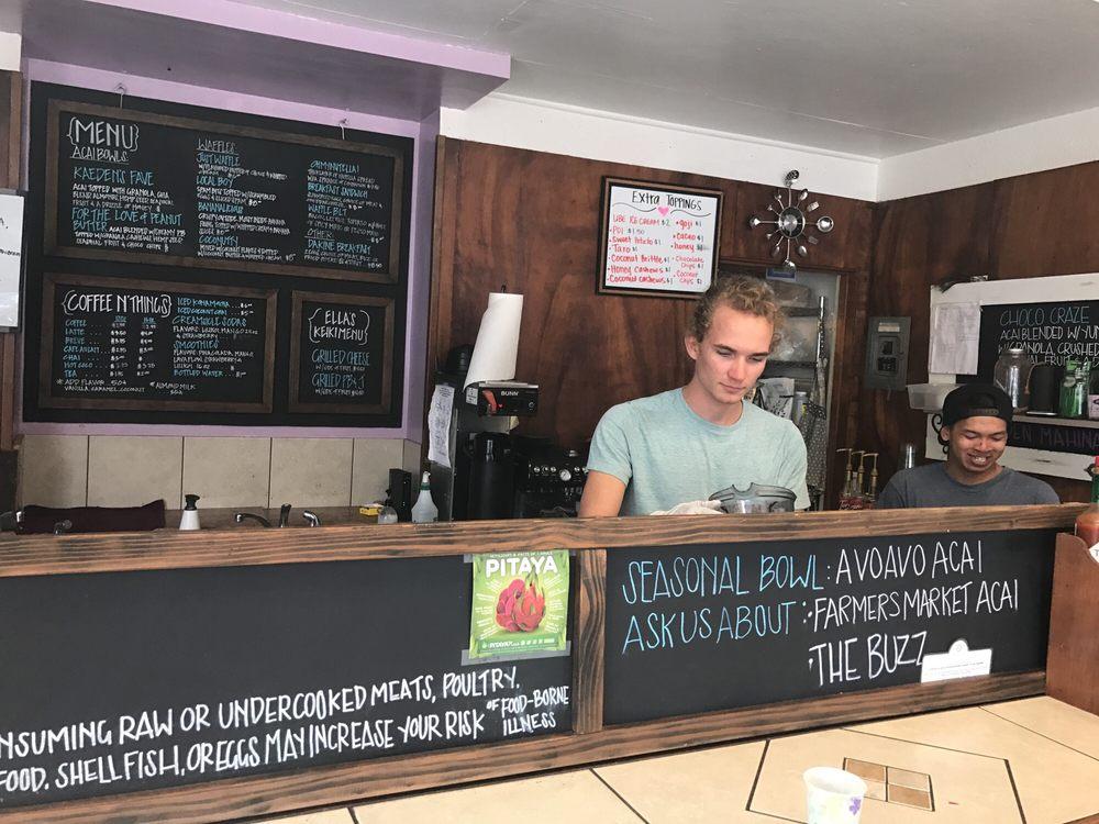 Hina Rae's Café: 45-3610 Mamane St, Honokaa, HI