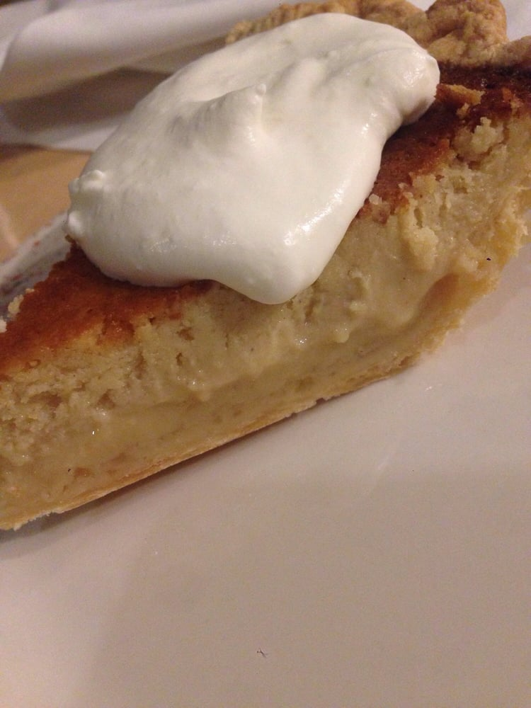 Buttermilk Brown sugar pie--I think it's even better than ...