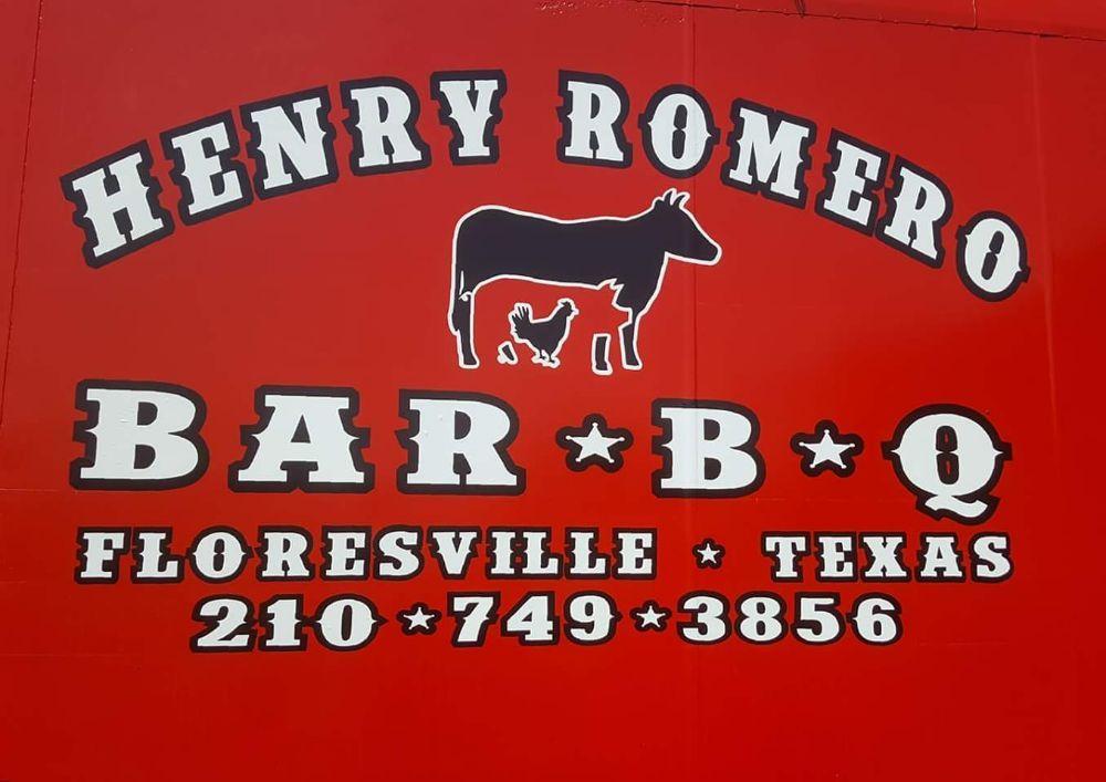 Henry Romero Bar-B-Q: 642 10th St, Floresville, TX