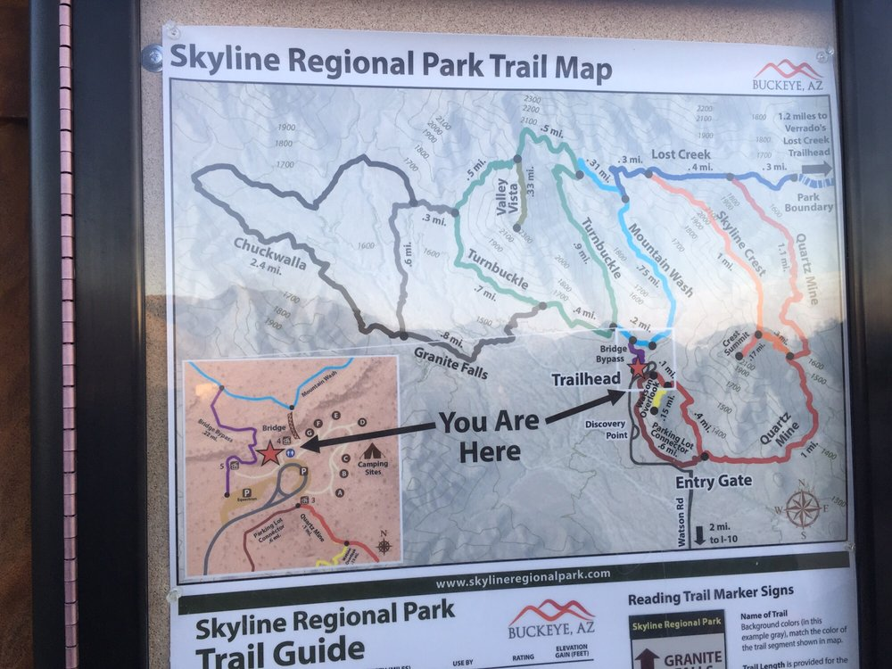 Trail Map Located At Parking Lot Yelp