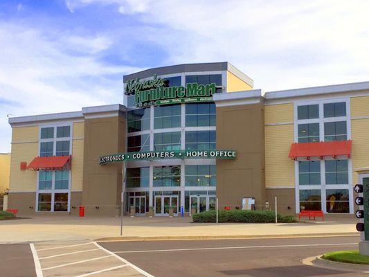 Nebraska Furniture Mart 1601 Village West Pkwy Kansas City, KS Furniture  Stores   MapQuest