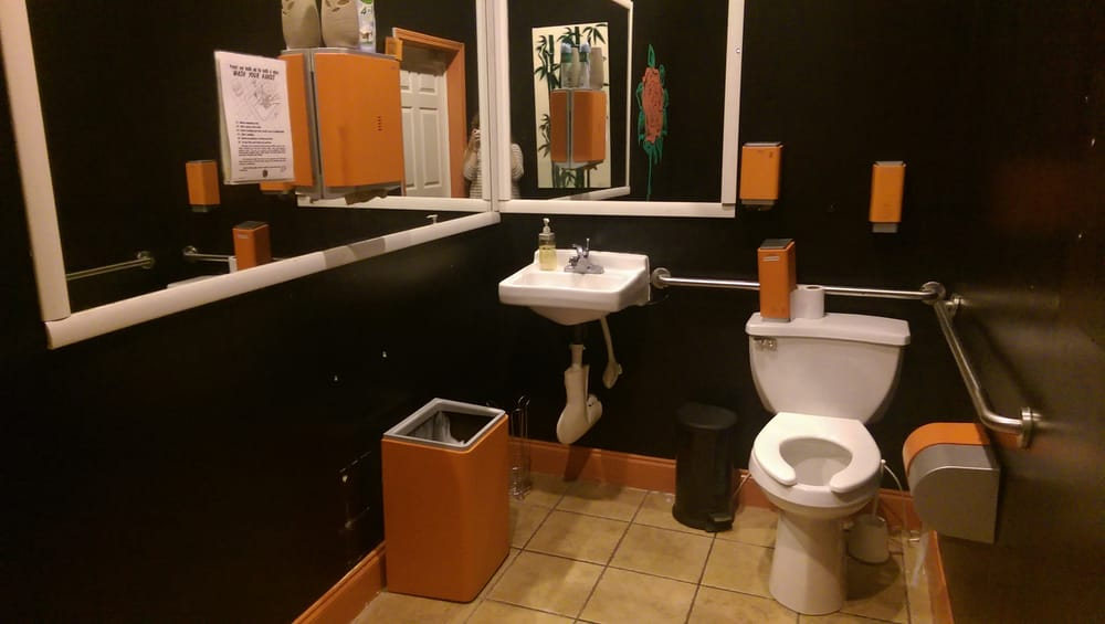 Clean bathroom but only one stall yelp - Bathroom partition installers near me ...